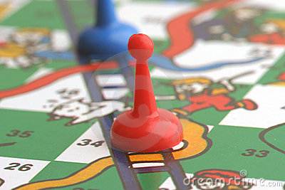 Snakes & Ladders Stock Photo