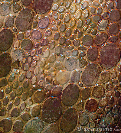 Snakeskin Pebble Patterned Background