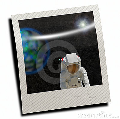 Snaphot of spaceman