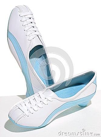 Sneakers with heels