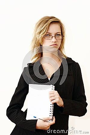 Free Sneering Businesswoman Stock Photo - 2410480