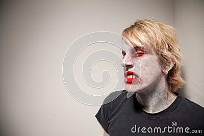 Sneering Zombie