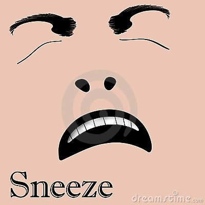Sneeze face