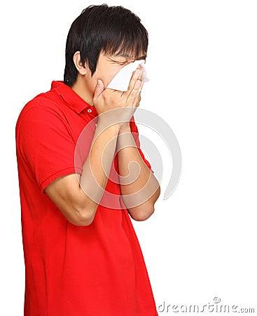 Sneeze man