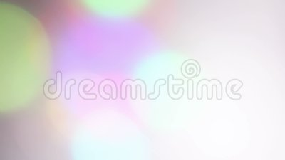 Snelle bokehfilm, abstracte achtergrond stock footage