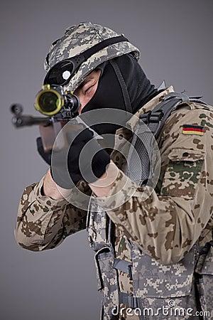 Sniper aiming