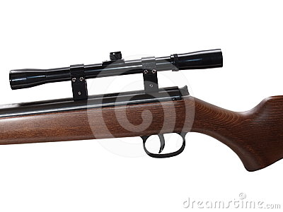 Snipers Rifle Isolated Stock Photos - Image: 24384453