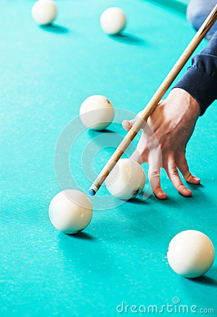 Snooker billiard game