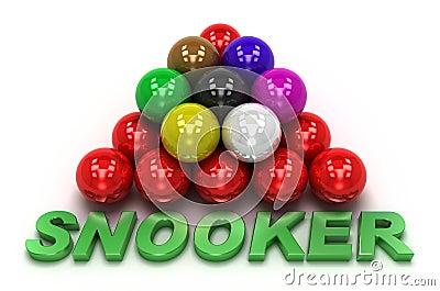 Snooker concept