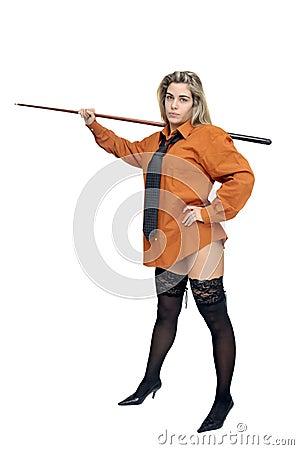 Snooker girl