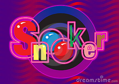 Snooker graphic