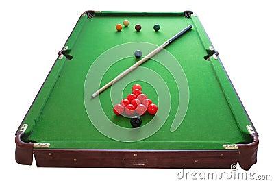 Snookeru stół