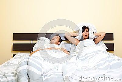 Snorer husband