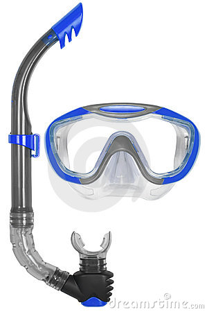 Free Snorkel And Mask For Diving Royalty Free Stock Photos - 16033168