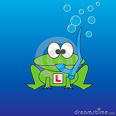 Snorkel Frog