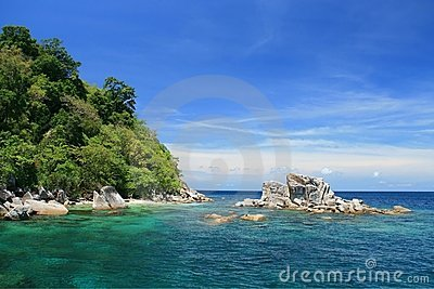 Snorkeling Point at Tarutao Island