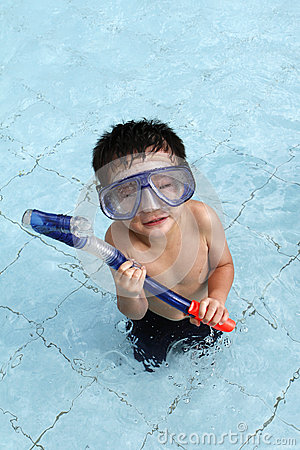 Snorkeling At the Pool
