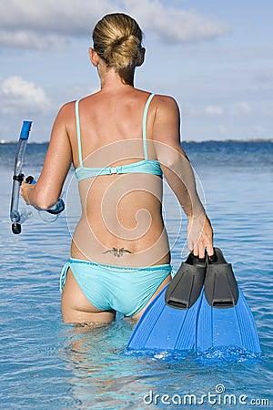 Snorkeling - Tahiti - French Polynesia