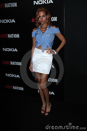 Snow at the 2012 ROC Nation Pre- Grammy Brunch, Soho House, West Hollywood,CA 02-11-12 Editorial Photo