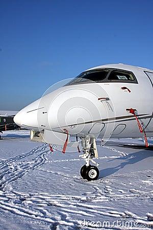 Snow aircraft