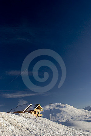 Free Snow And Sky Royalty Free Stock Photo - 88755
