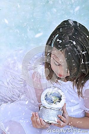 Free Snow Angel Stock Photo - 27756930