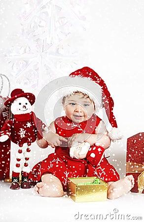 Free Snow Baby Stock Image - 357881