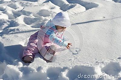 Snow Baby Heart