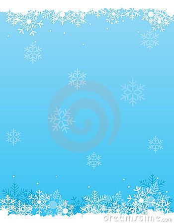 Free Snow Background Stock Photography - 21099412