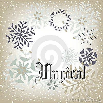 Free Snow Background - Magical Stock Images - 17474664