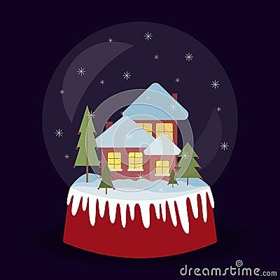 2017.12.20_snow ball Cartoon Illustration