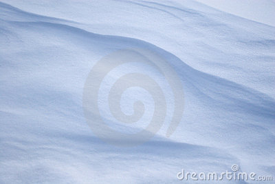 Snow Barchans. Stock Photography - Image: 1175712