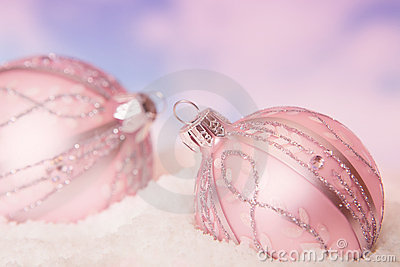Snow baubles