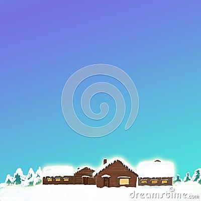 Snow cabins