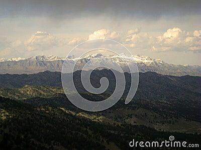 Snow-Capped Afghan Peaks