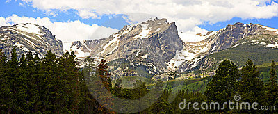 Snow-capped Mountains In Colorado Stock Photography - Image: 5543492