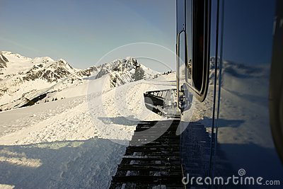 Snow Cat in Alaska