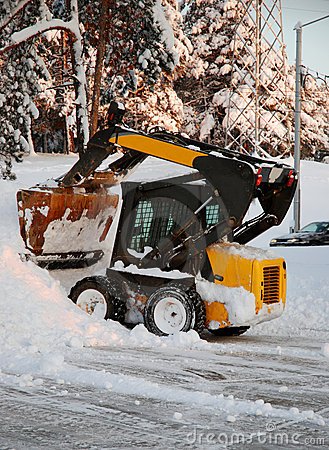 Free Snow-cleaner Stock Photography - 7634102