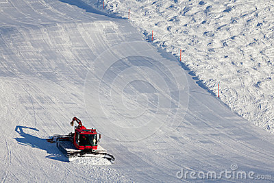 Snow Cleaning on Ski Slopes