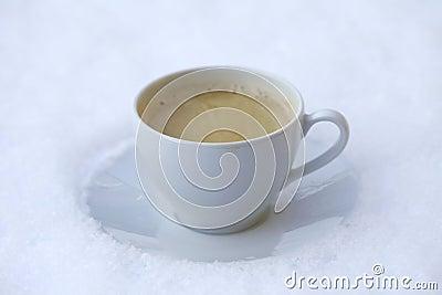 Snow coffee