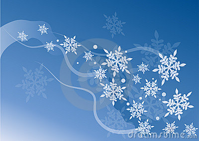 Snow crystal vector