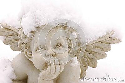 Snow cupid