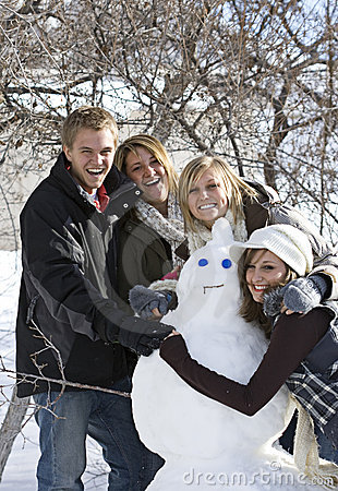 Snow Day Fun with Snowman