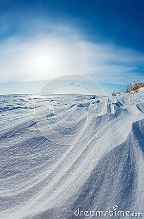 Free Snow Dunes Stock Photos - 4153883