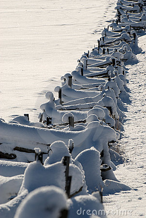 Free Snow Fence Stock Photo - 7582820