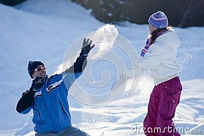 Snow fighting