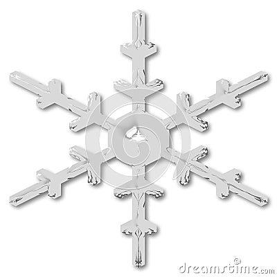 Free Snow Flake Royalty Free Stock Image - 1332906