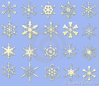 Snow flake.