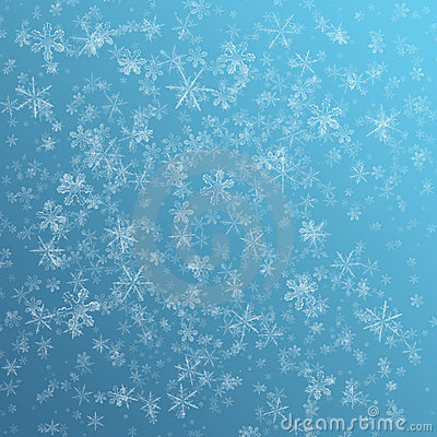 Snow flake background