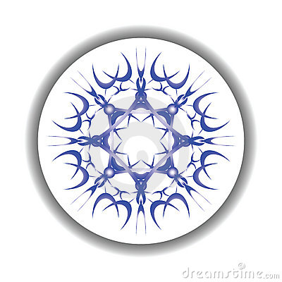 Snow flake medallion